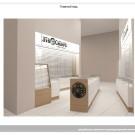 """Дизайн-проект магазина """"ЭтноСибирь"""" чистая зона аэропорта Кольцово"""