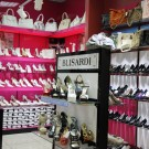 "Полка-световой короб. Магазин обуви ""Farlena"" ТЦ Мегаполис"