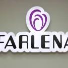 """Световая вывеска. Магазин обуви """"Farlena"""" ТЦ Мегаполис"""