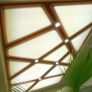 Световой потолок в жилом интерьере г. Екатеринбург